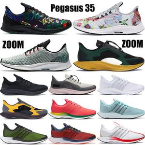 Fashion foam Pegasus 35 turbo mens running shoes zoom geode teal floral triple black gold dart red orbit men women sneakers trainers