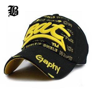 Erkekler Kadınlar Hiphop [fLB] Toptan Yaz Stili Beyzbol şapkası BAT Gömme Boş Snapback şapka Güneş Kemik Casquette Gorras kapakları
