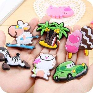 Çocukluk Erken Yumuşak Şekli Hayvanlar dolabı Magnet Buzdolabı Mıknatıslar Popüler Beyaz Tahta Bebek Yaratıcı Sticker 3d vmAKt 3dc Dd Silikon 0