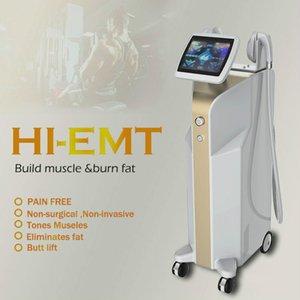 Новая технология Emsculpt мышц Hifem Строительство мышц сжигать жир Уменьшение целлюлита тела для похудения Костюм Эмс Therapy машины