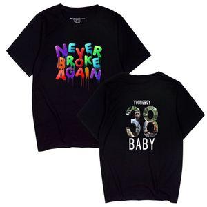 2020 SS New Arrival Cheap lovers shirts Men's Women's T Shirts Never Broke Again SESAME STREET L Polo O-Neck Cotton Tee Shirt XS-3XL