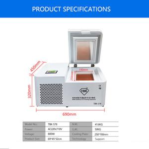 Nuovi TBK-578 schermo curvo congelata Separazione macchina di mini desktop -185 gradi Congelatore Mobile Phone LCD riparazione di separazione