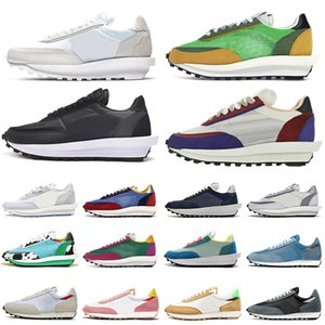 chunky dunky daybreak ld waffle men women running shoes Nylon triple white black Pine Green Gusto mens trainers outdoor sports sneakers