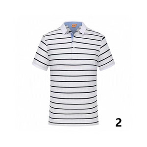 20-2 été coton couleur unie nouveau style polo de qualité supérieure polo usine hommes de luxury1 hommes de marque en vente