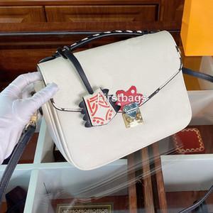 luxurys designers bags New Fashion Shoulder Bags Women Cowhide Handbag Crossbody Bags Lady Luxurys Designers Purse Messenger Bag 24cm