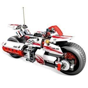 Sembo Technic 701500 392PCS Pullback de carreras de motos Set Building Blocks Ladrillos regalos educativos Juguetes de Navidad para niños