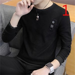 Autumn long-sleeved T-shirt men's sweater middle-aged men's business 0924