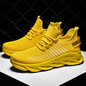 new Blade breathable sports casual shoes non-slip shock absorption running shoes couple mesh shoes