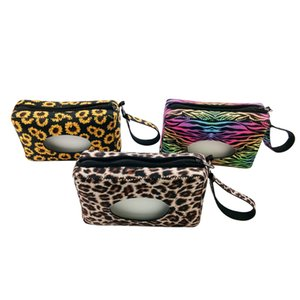 Neoprene Baby Wipe Case Wet Tissue Wipe Box Holder with Wristlet Keychain Portable Neoprene Tissue Box Wet Wipes Case with Strap AC1158
