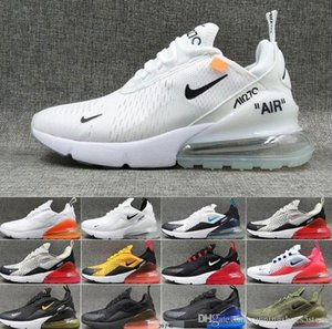 Hot 270 men women running shoes Air Bred Tiger 27c Platinum Tint Triple Black white University Red Sports 270s Trainers Runner Sneakers