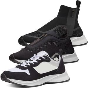 Nuova B25 B25 Low-top high-top Basse Haute Runner Sneaker Black White Neoprene e Mesh Scarpe da corsa da uomo B24 Donne francesi Donne rosa Scarpe da allenatore