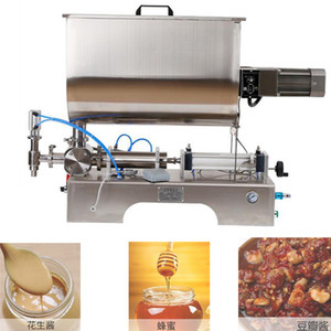 High quality commercial paste filling machine edible oil toothpaste chili sauce filling machine paste liquid dual use filling machine