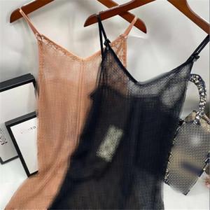 Le donne di lusso del merletto indumenti da notte sexy completa Lettera ricamo Lady Camicia da notte coperta casual femminile trasparente Home Abbigliamento