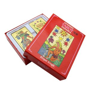 Holiday Quality Card 78pcs English Wholsale Game Board Family Gift Table Cards Fun Playing Tarot And Ofspanish Party Good Cards yCFwV