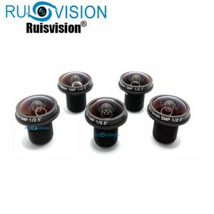 """M12 1 / 2.5"""" 1.8mm lente lente de la cámara CCTV HD 5MP Pixel Fisheye para el 2MP 3MP 4 MP 5MP analógico AHD IPC cámara 5PCS / 10pcs opcional"""