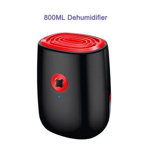 Dehumidifiers Car Dehumidifier 220V 800Ml Electric Air For Home Portable Mini Bathroom