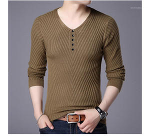 Couleur Pull Designer Mens Bottom Pull Mode mince tricot Chemise d'hiver Casual solide