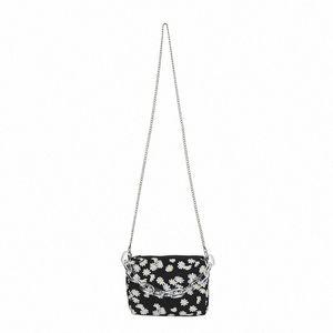 Fashion Daisy Printed Shoulder Bag 2020 Summer New Womens Chain Crossbody Bag Bolsa Feminina Mini Handbag CTrz#