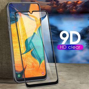 Xiaomi Mi Pro 9T 9 SE A3, A2 Karışım 2 Çalma redmi K30 S2 Pocophone F1 ekran koruyucu tabaka için 2pcs 9D Temperlenmiş cam