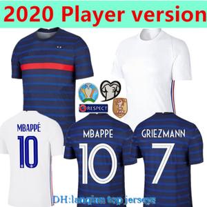 Player version 2020 France MBAPPE GRIEZMANN POGBA jerseys 2021 Soccer jersey Football shirts maillot de foot men kit