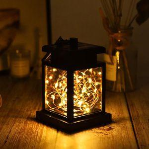 DSUL2 Solar Light Outdoor IP65 Waterproof Stars Garden Light Decorative Light Hook Home Ambient Rechargeable Battery