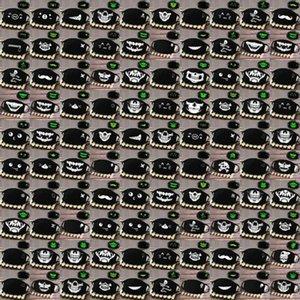 Koyu Taktik Half Kafatası Skeleton Kafatası Yüz Muerte Kafatası Muerte Kapak Glow HUUkn ffshop2001 Maskesi