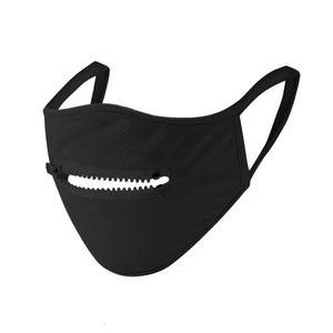 Venta Ot máscara creativa cremallera Den fácil de beber Wasale Ering Fa máscaras protectoras Julie