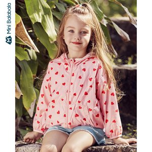Mini Bala Boy and girl coats 2020 summer air conditioning shirt tops light and comfortable cool coat sun protection clothing