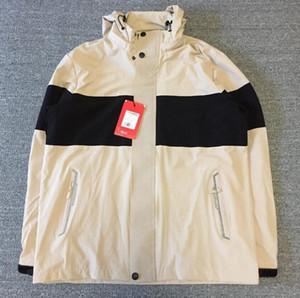 Новые мужские куртки женщины девушки пальто горячего производства с капюшоном куртки с буквами Ветровка на молнии толстовки для мужчин Sportwear Топы Одежда