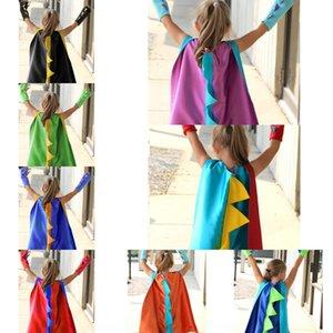 D do dinossauro terno Wansheng festival Dia desempenho Festa infantil dinossauro capa terno Wansheng Cloak roupas roupas festival Crianças