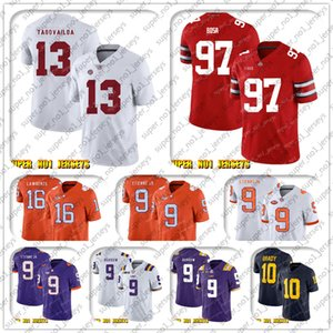 9-17 NCAA 13 Tua Tagovailo 97 Nick Bosa Alabama Crimson Tide 12 Aaron Rodgers 17 Davante Adams Jaire Alexander Jimmy Graham Bart