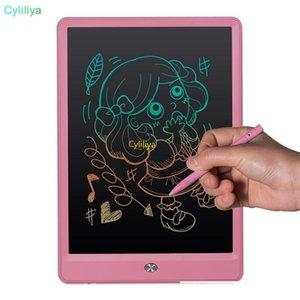 Memo Cgjxs 10 pulgadas tablero de dibujo Tableta de escritorio LCD de alta luz pizarra sin papel Bloc de notas de escritura a mano almohadillas con Mejorado pluma regalo para los cabritos