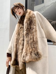 Sable Scarf mink series women's scarf women's fur collar Winter new style fashion Size:170*15cm