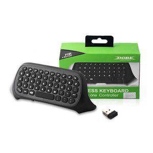 Беспроводная клавиатура для Xbox One Mini Wireless 2 .4ghz Клавиатура Клавиатура Интернет чат Pad контроллер USB приемник Игровой аксессуар