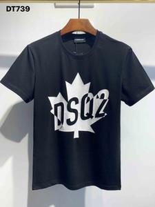 DSQ Phantom Turtle 2020ss New Mens Designer T-shirt Italie T-shirts Été Hommes DSQ T-shirt Homme Top Qualité 100% coton Top 4011
