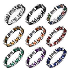 FXM neue Ankunft Modeschmuck für Frauen Geburtstagsgeschenk meistverkauften Stahl Farbe Armband Liebhaber Armband Farbe Lokomotive Kette