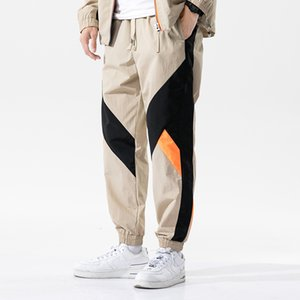 Pantaloni cargo Harem 2020 Cotton Hip Hop Casual Male Tatical jogging pantaloni casuali di modo di Streetwear Pantaloni