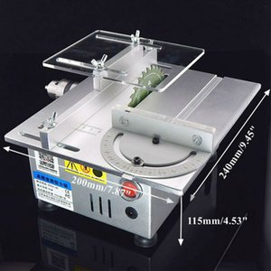 Mini Table Saw Handmade Woodworking Bench Lathe Electric Polisher Grinder Diy Model Cutting Saw B12 Drill Chuck