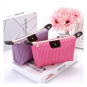 Women Make up Cosmetic Waterproof Pouch Candy Color Lady Foldable Travel Organizer Bag For Bathroom Toiletries Toiletry Kit