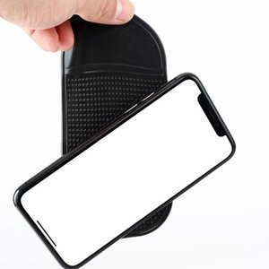 Car Anti-Slip Dashboard Sticky Pad Mat For Phone Glasses Magic Sticky Gel Pads Holder Auto Interior Silicone Mat AAB1855