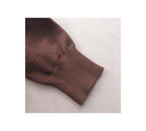 Werynica New Outono Inverno Mulheres solto camisola de malha Oversized camisola de gola mangas compridas Mulheres Outwear Sólidos pulôver 200921