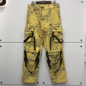 2020FWSS Estilo de Calle Trajes de mujeres de los hombres de alta calidad de los pantalones casuales pantalones flojos