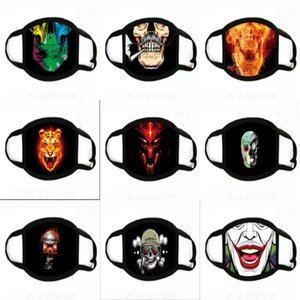 Clown Soul-Tornando 2 mascherina mascherine di stampa Cosplay alloween partito Pennywise Orror Ead Er del gioco di ruolo divertente Fa Mask # 689