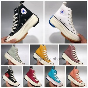 2020 Womens Converse J.W. JW Anderson Chuck Run Star Hike Vulcanized Shoes Women Canvas Boots Female women Sneakers Platform Shoe Girls Sneaker