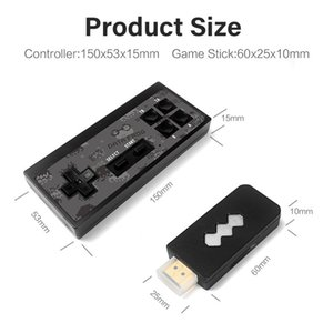 Usb Wireless Handheld Tv Video Game Console Built-in 1400 Classic Games 4k 8-bit Mini Video Game Console Supports Hdmi Output