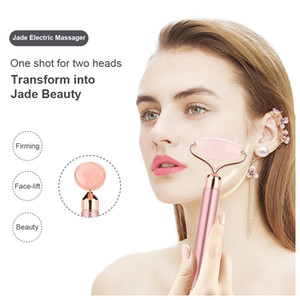 Portable Pratical Facial Massage Roller Natural Jade Anti Wrinkle Face Slimming Shaper Body Foot Relaxation Beauty Tool