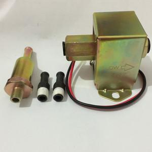 Diesel benzina 12V faccia superiore rosso pompa carburante elettrica quadrato 40104 40106 40107 P502 bassa pressione esterna per ford carburatore