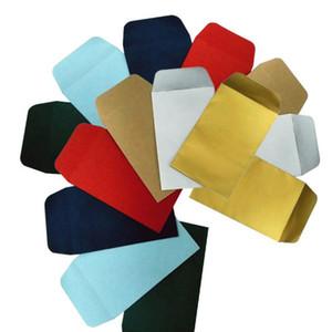 Envelopes Shatter Folha de alumínio Embalagens Papel Pérola Envelope Printing Retângulo Bronzing Paper Envelope papel de embalagem presente Wraps ZCGY94