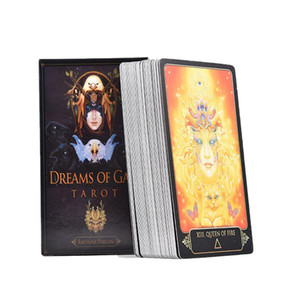 Gaia Table Friends Party Dreams Of Entertainment Family Cards Deck 81pcs Gift Board Tarot Cards Game Playing BlwCy sweet07