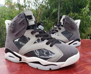 Nueva WMNS 6 de humo gris 6s PE Oregon Ducks Washed Denim Hare 2020 zapatos de baloncesto del Mens Tamaño Jumpman Formadores zapatillas de deporte 13